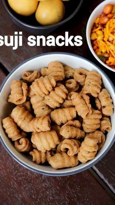 suji snacks recipe, twister sooji snack, suji ke snacks, tea time sooji snack with step by step photo/video. savoury snack with semolina, dry spices. Pakora Recipes, Chaat Recipe, Paratha Recipes, Veg Recipes, Spicy Recipes, Cooking Recipes, Curry Recipes, Tea Time Recipes, Recipes For Snacks