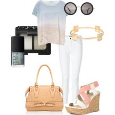 Complete your comfortable & cool outfit with pastels for an easy-going look.