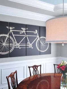 Decorate a Shade - 10 Dining Room Decorating Ideas on HGTV