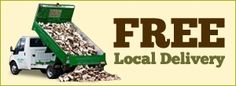 Free delivery of your logs if you're local to Grange Farm Logs - even if you're not, they can still deliver to you for a small charge!