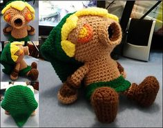 Legend of Zelda, Majora's Mask, Majora, amigurumi, deku scrub