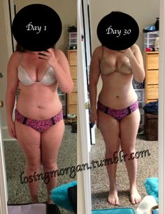 losingmorgan:  30 day progress photos! So amazed by how much my... - #yourweightlossmethods