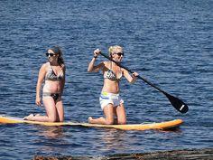 La foto de paddle surf de Mike Woodall