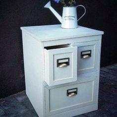 Mesitas de noche Filing Cabinet, Storage, Vintage, Furniture, Home Decor, Bedside Tables, Filing Cabinets, Mesas, Homemade Home Decor