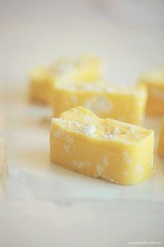 Recipe :: Lemon Meringue Fudge