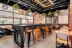 Hurricane's Express restaurant by Nufurn & Giant Design, Sydney – Australia