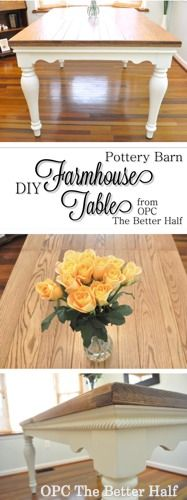 Best Photos Farmhouse Table pottery barn Thoughts Creating a farmhouse table is .Best Photos Farmhouse Table pottery barn Thoughts Creating a farmhouse table is . Farmhouse Style Dining Table, Farmhouse Style Kitchen, Kitchen Dining, Farmhouse Ideas, Farmhouse Decor, Farmhouse Windows, French Farmhouse, Modern Farmhouse, Dining Room