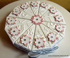 Stempelitis, Papiertorte, Cake, Stampin up