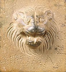 Lion (detail) from Weight with a Lion's Head, Roman, 100 B.C. - A.D. 100. Bruce White Photography. Gift of Barbara and Lawrence Fleischman