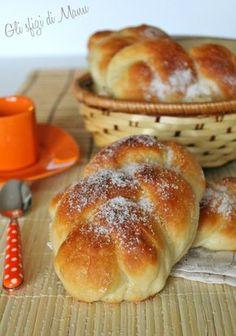 Maritozzi baresi, treccine con lo zucchero | Gli sfizi di Manu...in un Sol Boccone