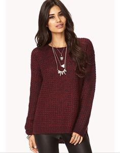 Cozy Marled sweater - forever 21 #ForeverHoliday