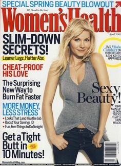Elisha Cuthbert – Women's Health Magazine (April 2009)