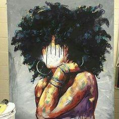 Buenos días #pelorizo #peloafro #rizos #rizosnaturales #cabellosano #cabelloafronatural #afronatural #afrohair #arte