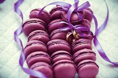 Find Colorful Tasty Purple Macaroons On White stock images in HD and millions of other royalty-free stock photos, illustrations and vectors in the Shutterstock collection. Wedding Desserts, Wedding Cakes, Wedding Rings, Delicous Desserts, 2016 Wedding Trends, Smoky Mountain Wedding, Ways To Propose, Diamond Stores, Cute Cupcakes