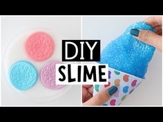 MAKING 4 AMAZING DIY SLIMES - Satisfying NO GLUE Slime Recipes! - YouTube