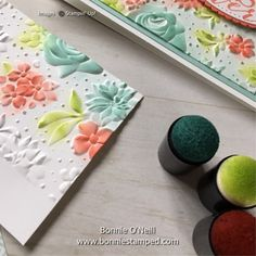Note Card featuring the Country Floral Embossing Folder Stamping Up, Rubber Stamping, Embossed Cards, Embossing Folder, Cute Cards, Anniversary Cards, Homemade Cards, Stampin Up Cards, Cardmaking