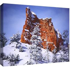 Dean Uhlinger After The Storm Gallery-Wrapped Canvas, Size: 18 x 24, Brown