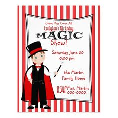 17 best kids magic birthday party invitations images magic