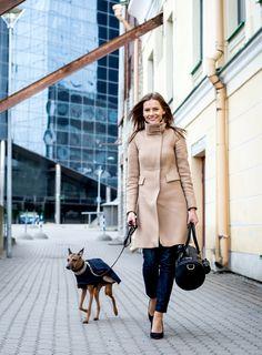 Elegant springlook for you and your pet. MERIKH Duffelbag & Multifunctional bag  #MERIKHbags