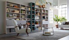 Libreria per soggiorno Citylife 35 - DoimocasamiaCasamia