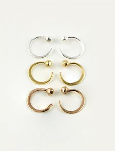 Hey, I found this really awesome Etsy listing at https://www.etsy.com/listing/237263682/tiny-hugging-hoops-sterling-silver