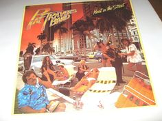 Pat Travers Band - Heat In The Street , record vg++