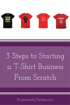 3 Steps to Starting