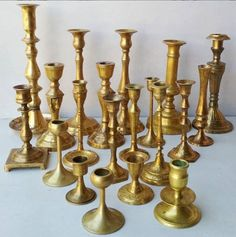 brass candlesticks to hire for wedding in Johannesburg