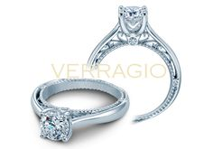 VENETIAN-5047R engagement ring from The Venetian Collection of diamond engagement rings by Verragio
