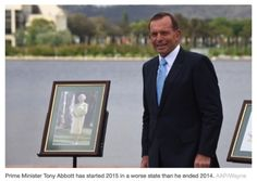 "@ michellegrattan Q: The central question is ""Is #Abbott is up to the #primeminister's job?""  A: so far, ""Nuh!"""