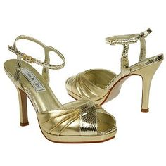 Touch Ups by Benjamin Walk TWILIGHT Shoes (Gold) - Women's Wedding Shoes - 7.5 M