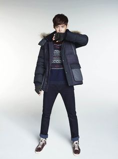 Lee Jong Suk for G by Guess Winter 2014