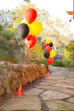 Race Car themed birthday party with Such Cute Ideas via Kara's Party Ideas | Cake, decor, cupcakes, games and more! KarasPartyIdeas.com #rac...