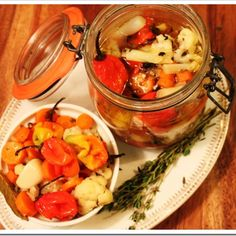 Pickled Habaneros  http://www.mexicoinmykitchen.com/2011/08/pickled-habanero-peppers-recipereceta.html?m=1