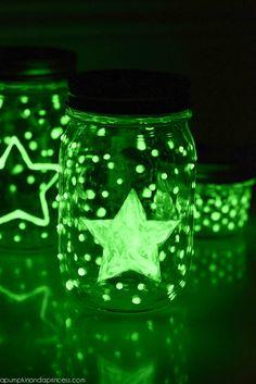 DIY Glow-in-the-dark