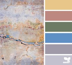 concrete tones from Design Seeds Colour Pallette, Colour Schemes, Color Combos, Design Seeds, World Of Color, Color Of Life, Living Colors, Color Harmony, Color Stories