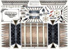 From Il favoloso mondo di carta di Totò: Dirigibles model of paper.