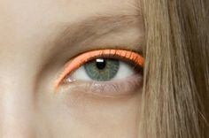 Orange Eyeshadow | Backstage Makeup