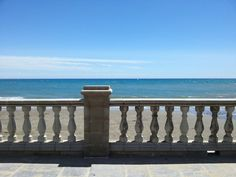 Sitges Beach, south of Barcelona, well worth a day trip!