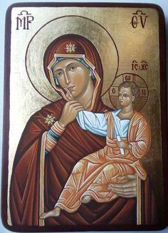 Theotokos by Elena Varga