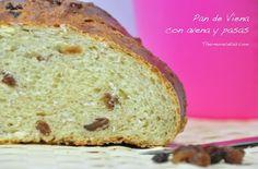 Un pan de viena enriquecido con pasas y avena. Suave y muy rico