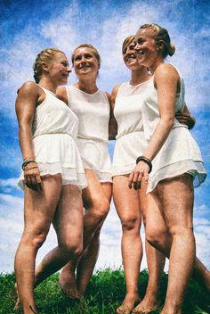 """DEUTSCHE MÄDEL""  #bdm #bund #deutscher #mädel #national #socialism #hitler #freedom #freiheit #girls #blonde #white #race #beauty #god #jesus #christ #blue #eyes #kameradschaft #fellowship #sodality #comradeship #germany #riefenstahl #aesthetic #beauty #gold #hair #sun #natural #falk #hündorf #wittenberg #leipzig #sachsen #turnen #dhfk #kultur #culture #europe #aryan #gymnastic #greek #antique"