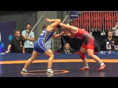2016 JR World Championship FW63kg Taylor Cartright  (CAN) vs A  Gempei (JPN)