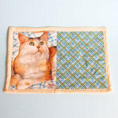 Cat Mug Rug Quilted Individual Placemat by JasminesTreasuresLLC