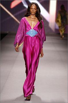 Regal. Tiffany Amber by Nigerian designer Folake Coker.