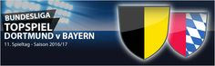 #Bundesliga, der 11. Spieltag: Im Topspiel geht es für den BVB nicht nur um Ansehen und Rivalität, sondern auch um den Anschluss an die Spitze. Für das Highlight gegen die bisher nicht immer überzeugenden Bayern hat sich sogar Marco Reus wieder einsatzbereit erklärt. Unsere Vorschau und aktuelle Wettquoten auf:  http://www.meinonlinewettanbieter.com/bundesliga-wetten/11-bundesliga-spieltag-201617-vorschau-und-wettquoten/