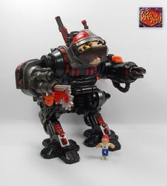 Mighty Max - Megahert / Cybot - Battle Warriors - Bluebird Toys 1994 5