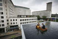Roof Boating   Hayward Gallery   London