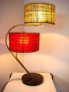 1950s Lamp Eames Era