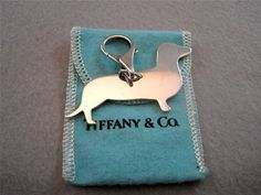 Saw a June 2013 Ebay auction for this vintage silver dachshund charm end at $259. #tiffany #tiffany's #dachshunds #tiffanyandco